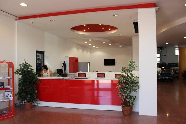 Parcheggio Fiumicino Aeroporto: sala d'attesa