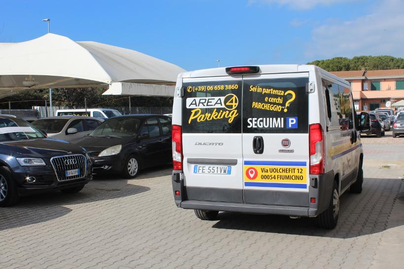Navetta parcheggio aeroporto Fiumicino