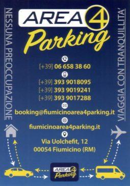 Come raggiungere il parcheggio dall'aeroporto di Fiumicino
