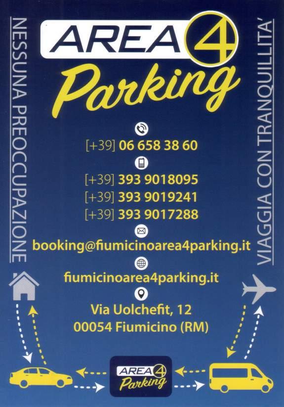 Parcheggio Fiumicino Area 4 Parking: dove siamo