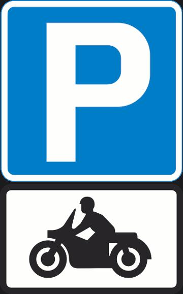 Parcheggio Fiumicino motociclo con navetta gratis.