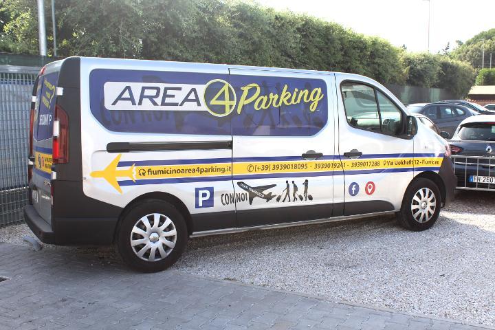Parcheggio coperto Fiumicino con navetta gratis